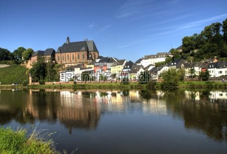 city, saarburg - 775933