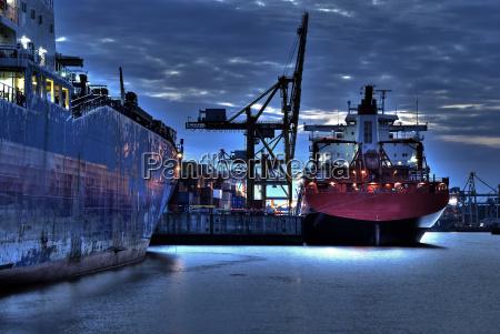 harbor, lights - 777823