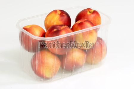 nectarines in the packaging