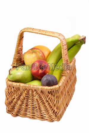 full fruit basket