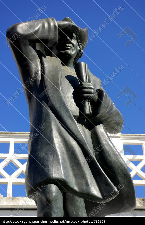 statue, of, great, navigator, colón, cuba, - 786269