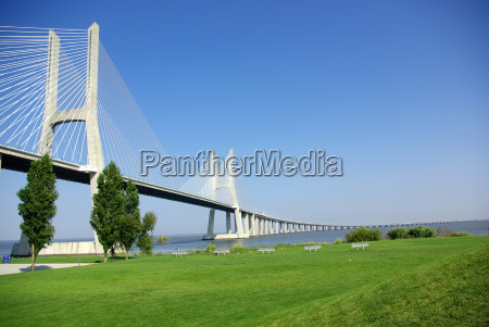 vasco, da, gama, bridge, in, portugal. - 797161