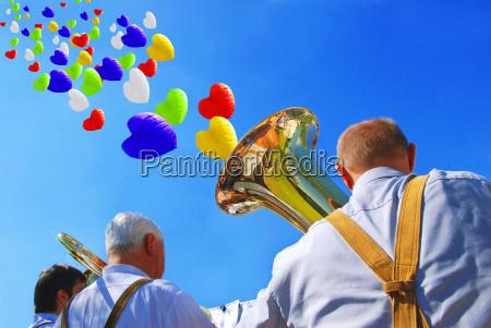 bavarian brass band sky 4