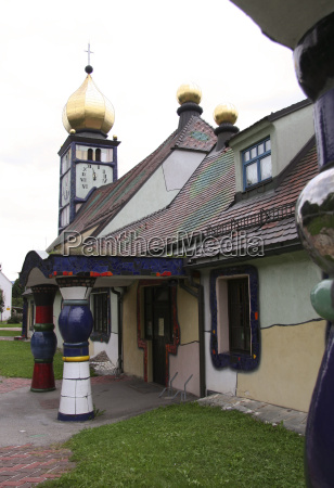 town pfarrkirche baernbach no 7