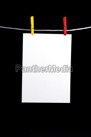 sheet, on, clothesline - 808137