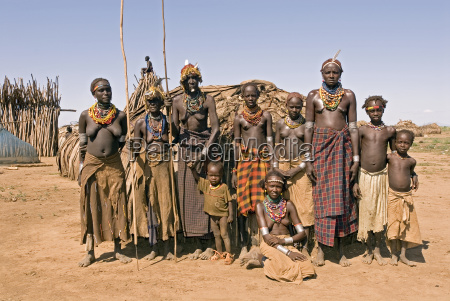 galeb village southern ethiopia