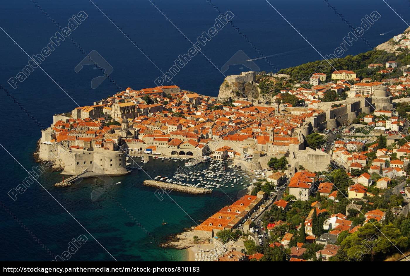 dubrovnik, from, above, 10 - 810183