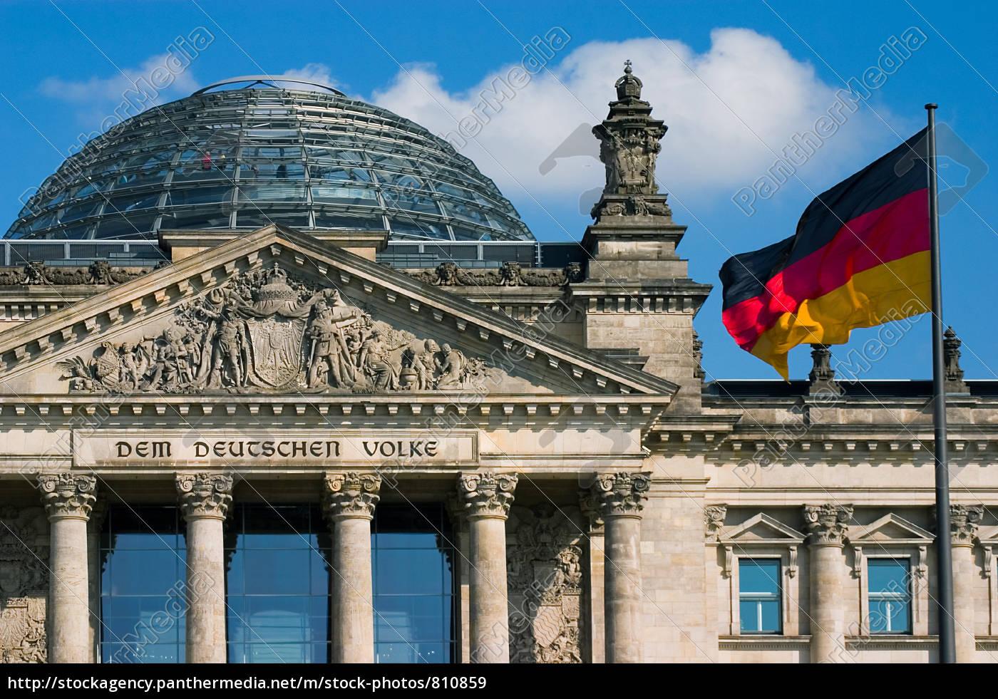 reichstag, building - 810859