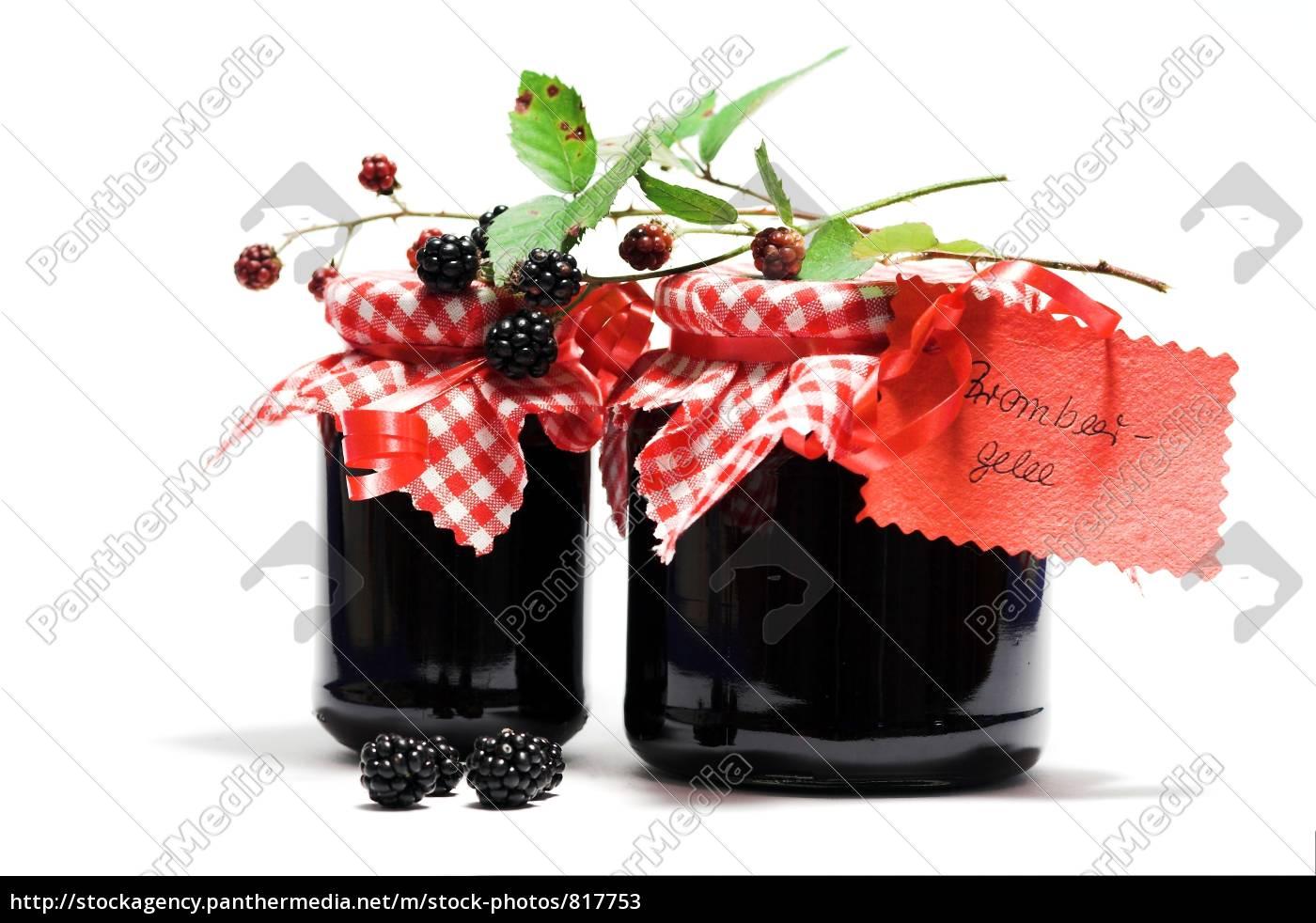 blackberry, jelly - 817753