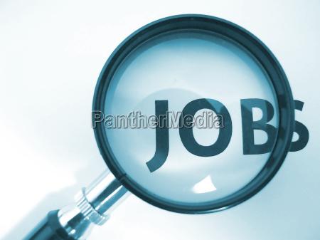 job, magnifying, glass - 820215