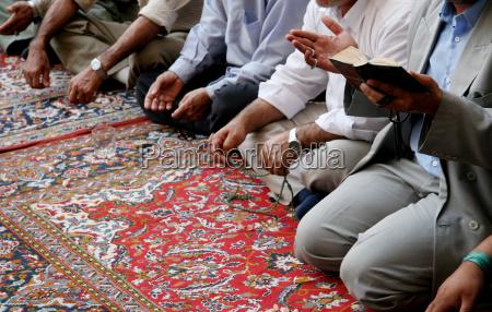 singing muslims in mosque