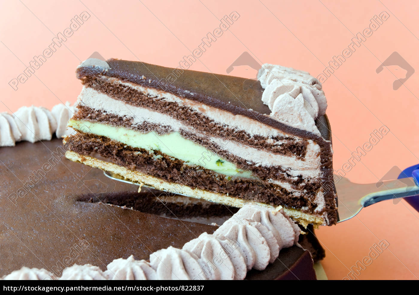 chocolate, marzipan, cream, cake - 822837