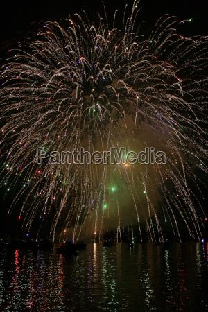 fireworks multicolor