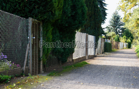 private garden door radio silence quietness