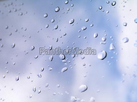 rain drops on the window 2