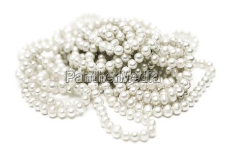 elegant pearl necklace