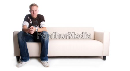 man, on, couch - 891769