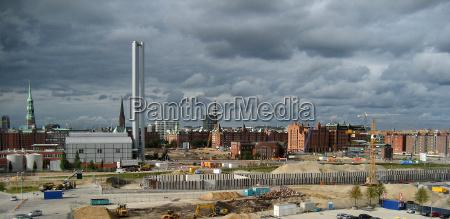 construction site hafen city hh