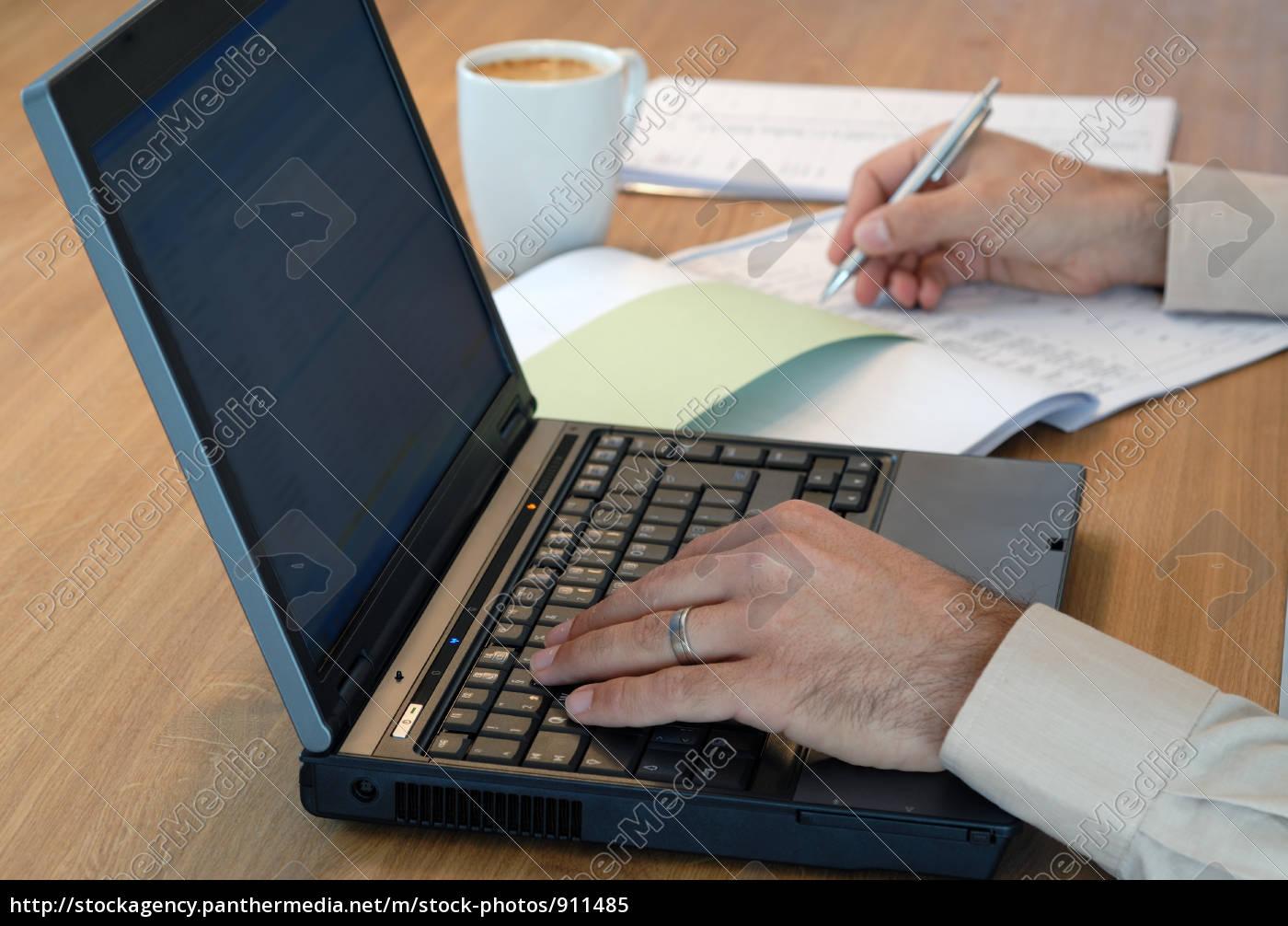 computer, work - 911485