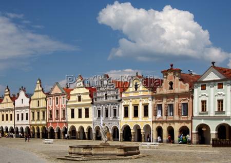storico repubblica ceca repubblica nucleo cittadino