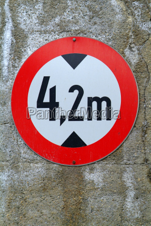 sign height limit
