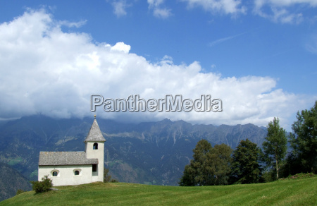 mountain, church - 982251