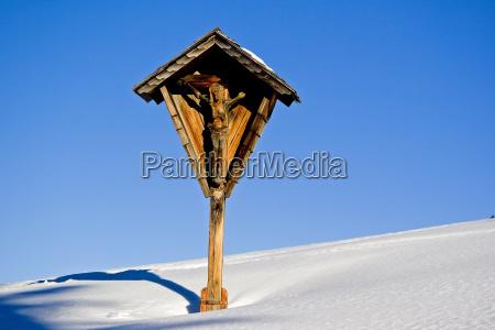 religion belief god winter cross radio