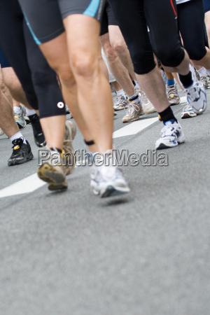 running motion