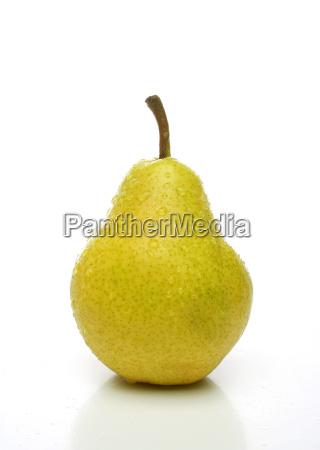 a, fresh, yellow, pear - 1067629