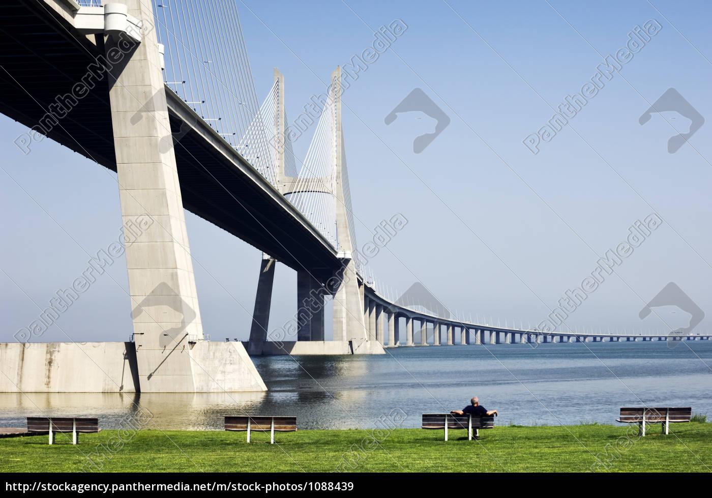vasco, da, gama, bridge, , lisbon, , portugal - 1088439