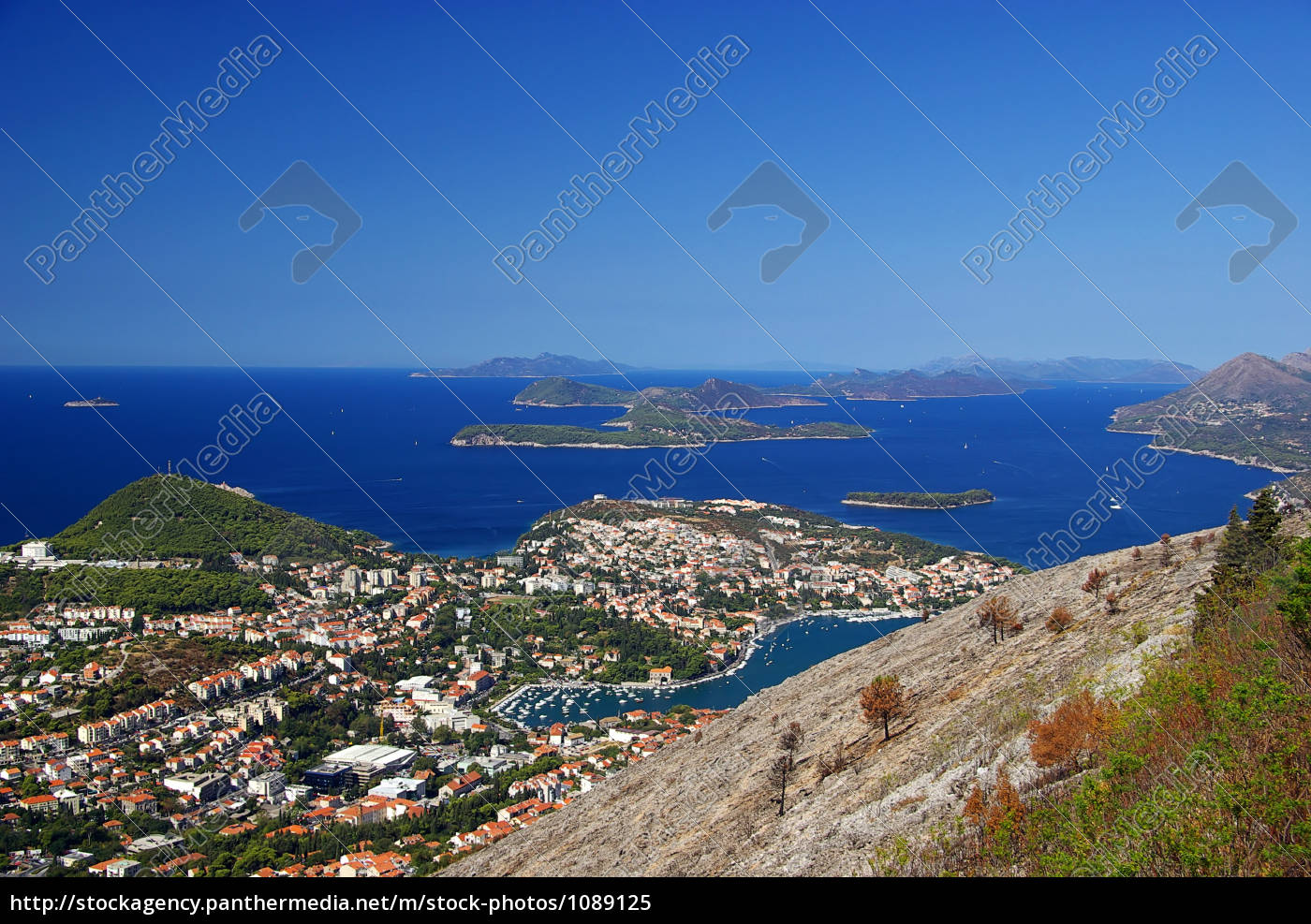 dubrovnik, from, above, 36 - 1089125