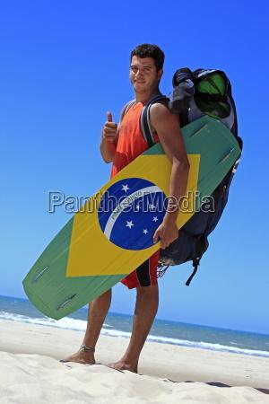kite, surfing, in, brazil - 1093113