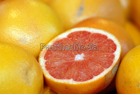 grapefruit halved