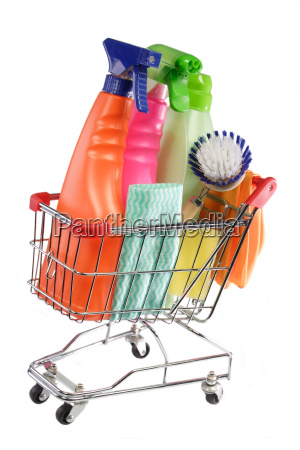 purchasing cleaning items