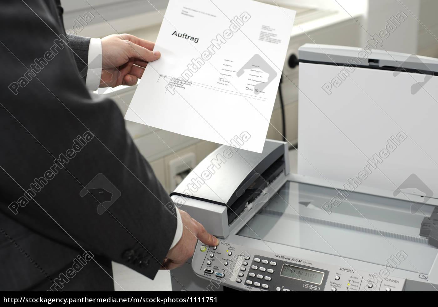 man, faxes - 1111751
