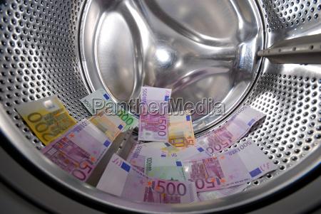 money, laundering, in, the, washing, machine - 1132331
