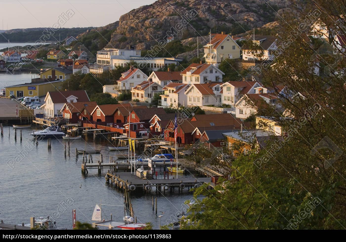 port, in, fjaellbacka, sweden - 1139863