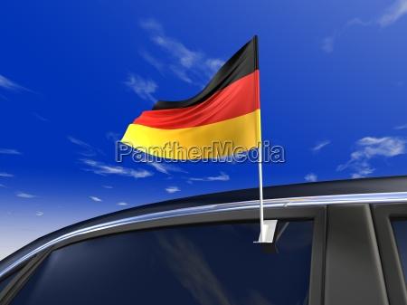 banner flag germany