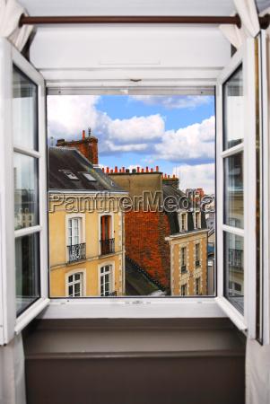 city, town, window, porthole, dormer window, pane - 1203471
