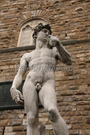 sculpture david by michelangelo