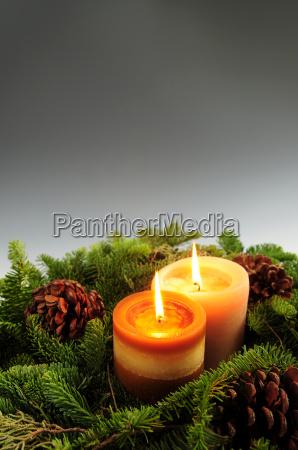 christmas, candles - 1219865