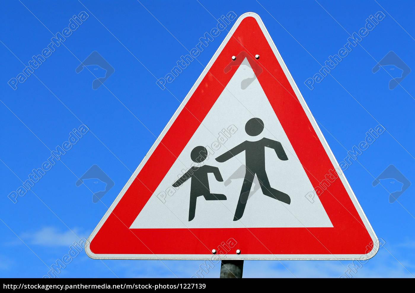 caution, children - 1227139