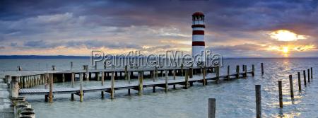 panorama lighthouse in podersdorf