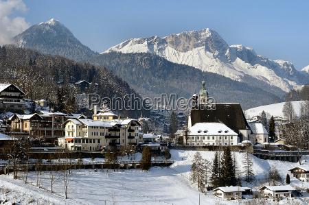 berchtesgaden in winter