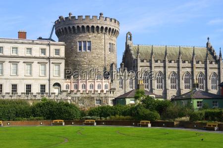 dublin castle in dublin ireland