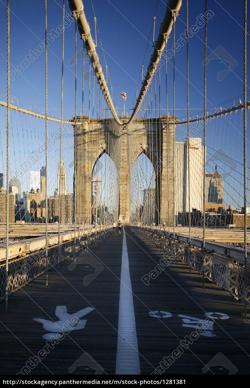 bridge, brooklyn, bridge, new, york - 1281381