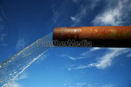 environment, enviroment, waterfall, rusty, sewer, pipe - 1290941