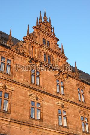 johannisburg castle in aschaffenburg