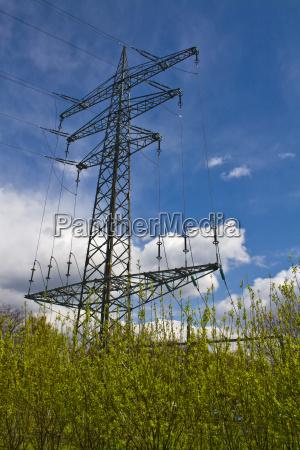 power pole pylon power