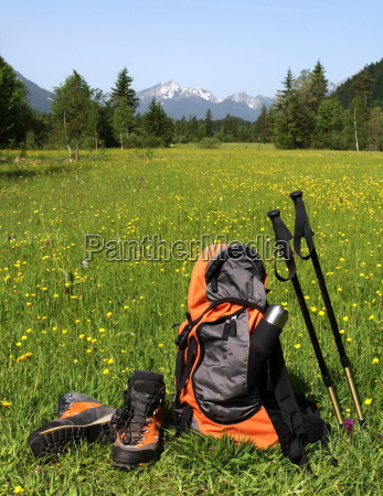 mountain sporting goods in ammergebirge